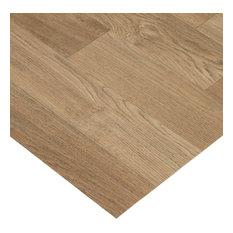 """Rubber-Cal """"Terra-Flex Oak"""" Premium Flooring Rolls - Nutmeg, 5'x10'"""