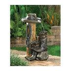 Outdoor Wild Western Water Fountain