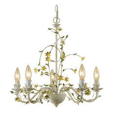 Grace 5-Light Star Flower Chandelier