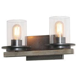 Industrial Bathroom Vanity Lighting by LNC