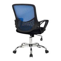 Hodedah Mesh Office Chair, Blue
