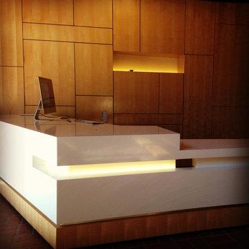 VCBO Reception Desk