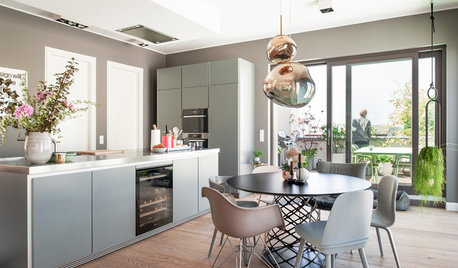 Houzz Tour: An Open-plan Flat with a Sociable Kitchen-diner