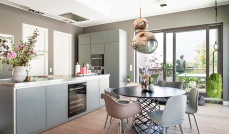 Houzzbesuch: Ein Penthouse mit Durchblick in Berlin-Mitte