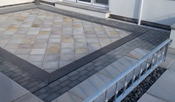Natural stone courtyard project in Newquay