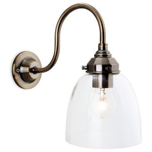 Victoria Retro Bell Wall Light