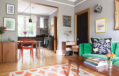 My Houzz: A Colorful and Stylish Victorian in Edinburgh