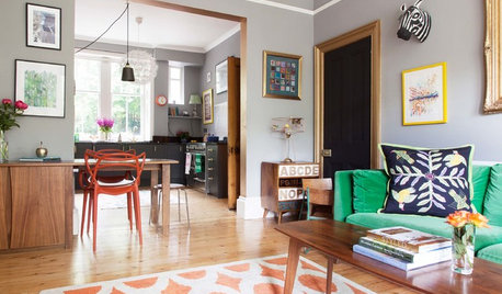 My Houzz: A Colourful and Stylish Victorian Terrace in Edinburgh