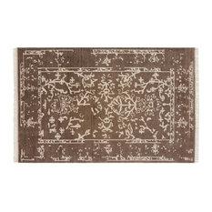 Resource Decor Belleville Global Bazaar Brown Wool Patterned Rug - 8' x 10'
