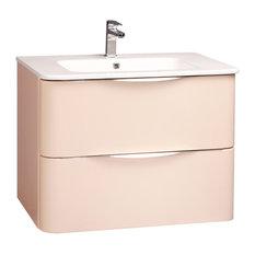 Japhar Bathroom Vanity, 71 cm, Nude