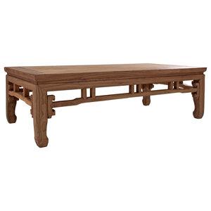 Ansun Decorative Pine Wood Coffee Table
