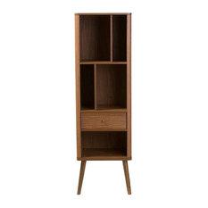 Ellingham 1-Drawer Sideboard Storage Cabinet Bookcase Organizer