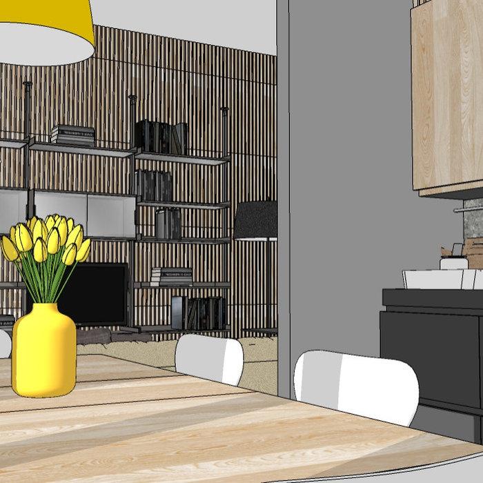 Appartamento Meda_Studio di fattibilità rinnovo_114 mq.
