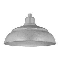 "Millennium Lighting RWHS17 R Series 1 Light 17"" Wide Outdoor Warehouse Shade"