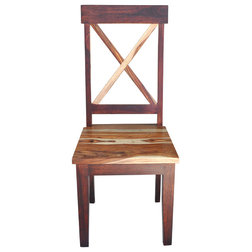 Superb Rustic Dining Chairs by Moti