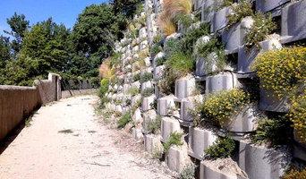 Mur de soutènement végétalisé