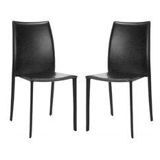 Safavieh Korbin Side Chairs, Set of 2, Black