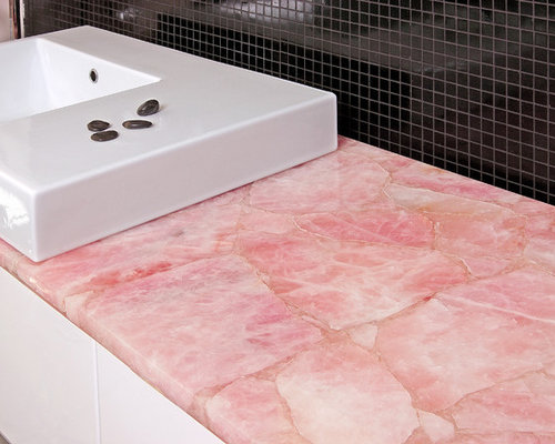 Best Pink Countertop Design Ideas Amp Remodel Pictures Houzz