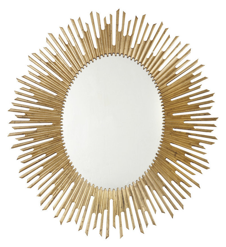 MA341-333CH Salon Oval Mirror