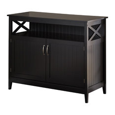 bay highland buffet black buffets and sideboards - Black Sideboard Buffet