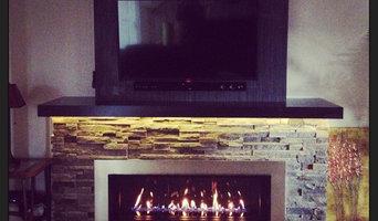 Fireplace Bump out Renovation