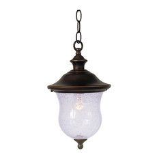 Hardware House Hanging Coach Outdoor Pendant, Oil Rubbed Bronze