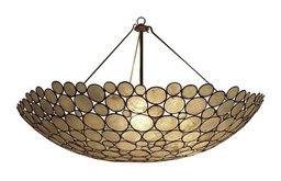 Serena Bowl Chandelier by Oly