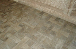Faux Wood Flooring made from Concrete Tiles