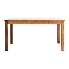 Boston Teak Wood Dining Table, Rectangular, Small