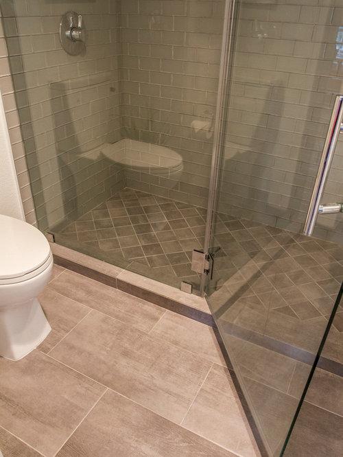 industrial badezimmer mit glasfliesen design ideen. Black Bedroom Furniture Sets. Home Design Ideas