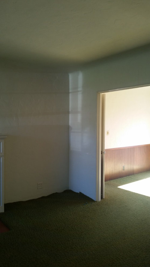 Question About Interior Paint Coved Ceilings