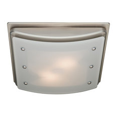 Residence Everly Bath Ceiling Exhaust Fan Brushed Nickel Bathroom Fans