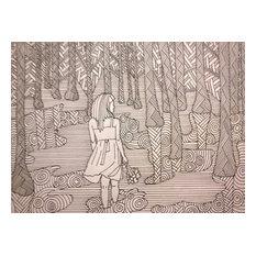 Nayana Glazier Wander Original Artwork By Nayana Glazier Drawings And Illustrations