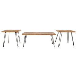 Rustic Coffee Table Sets by Crawford & Burke