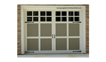 Decorative Garage Door Hardware Uses