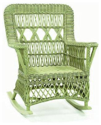 st augustine wicker rocker rocking chairs
