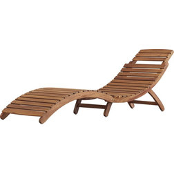 Craftsman Outdoor Chaise Lounges by AMT Home Decor