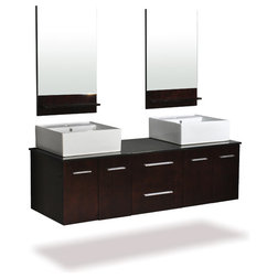 Fabulous Contemporary Bathroom Vanities And Sink Consoles by Luxvanity