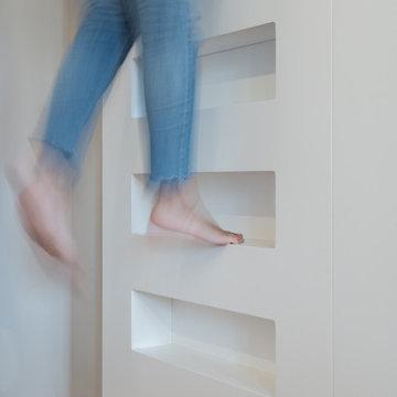 CD House // Dettaglio delle scale