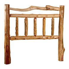 Furniture Barn USA - Rustic Red Cedar Log Queen Headboard Queen Size - Headboards
