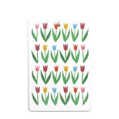 Cutting Board, Tulips