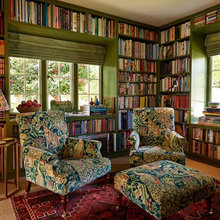 Bespoke Library - Arts & Crafts House