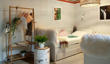 DreamHouzz: The Chic Sisters' Playful Hideaway