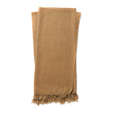 Ellen DeGeneres Crafted by Loloi Camel Brody Throw