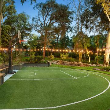 Granard Ave - Yard (basketball court)