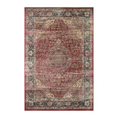 Red And Black Area Rugs Houzz