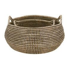 Con Dao Seagrass Baskets, Set of 2