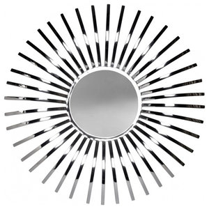Stainless Steel Solaris Mirror, 61x61 cm