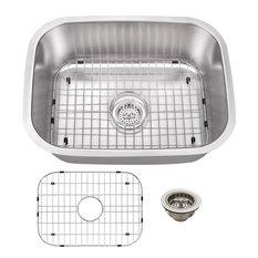 Stainless Steel 18-Gauge Single Bowl Bar Sink