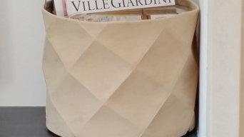 Fuscra - origami basket home collection